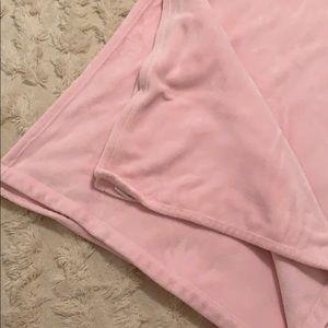 Pottery Barn Kids Full/Queen Blanket - Light Pink
